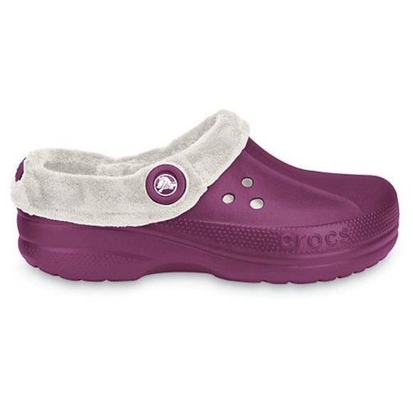 0ca22c9296c9 CROCS Shoes - Crocs Blitzen Polar Fleece Lined Clog